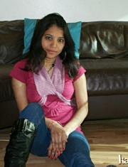 Pic gal 016. Kavya in ger favourite western outfits in lounge