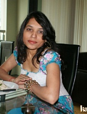 Pic gal 025. Kavya with her boyfriend on lunch teasing him off