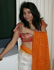 Pic gal 029. Naughty looking kavya sharma showing off in sari
