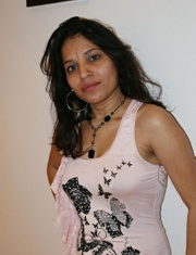 Pic gal 030. Kavya showing off in members gifted pink top