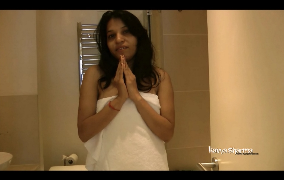 Vid gal 5. Kavya in shower soaping herself off for boyfriend